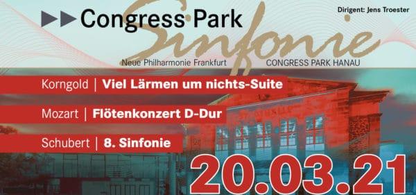 Ankündigung Frühlingskonzert der Congress Park Sinfonie