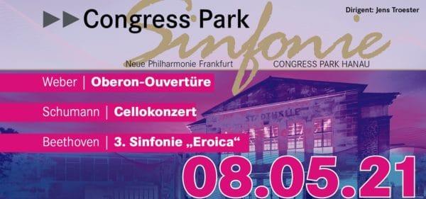 Plakat der 2. Congress Park Sinfonie