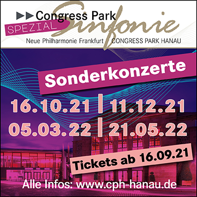 Congress Park Sinfonie Spezial - Übersicht Sonderkonzerte