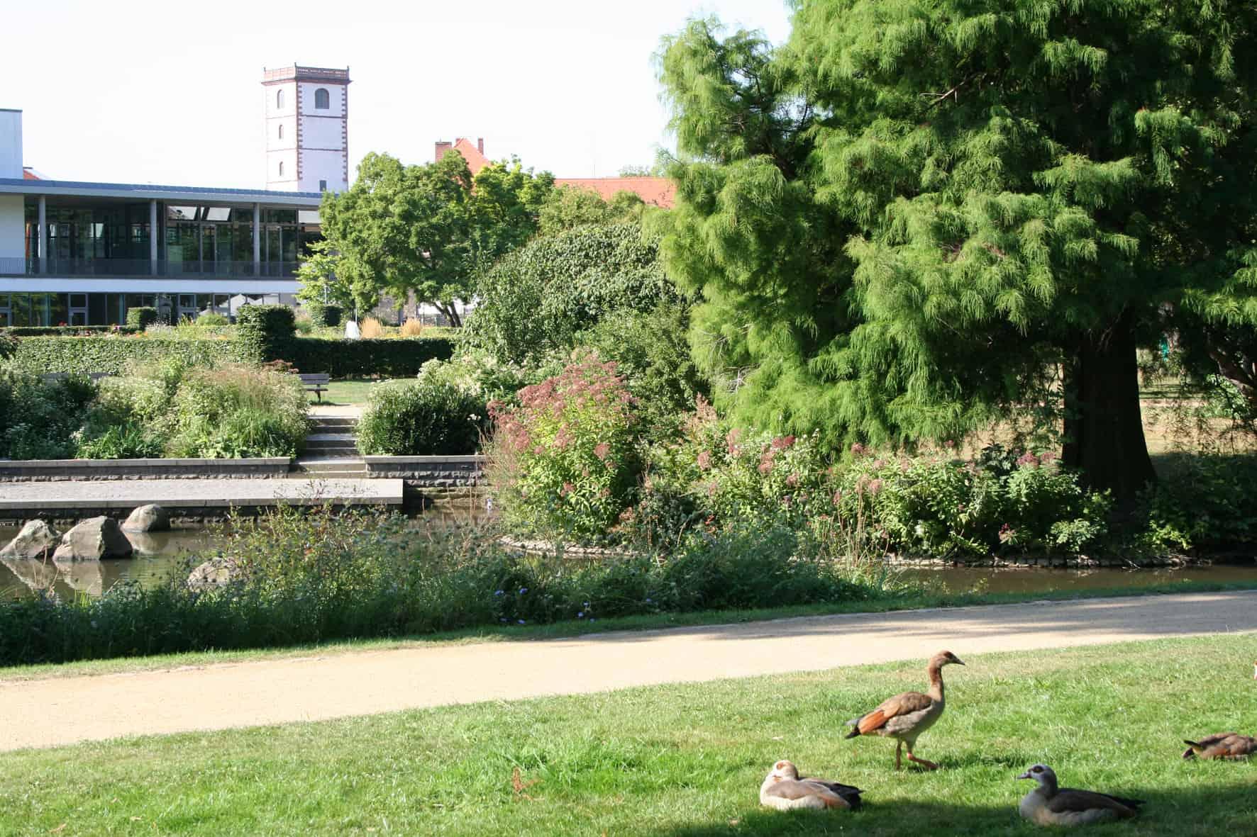 Schlossgarten am CPH