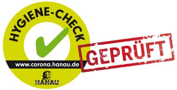 Hygiene-Siegel der Stadt Hanau