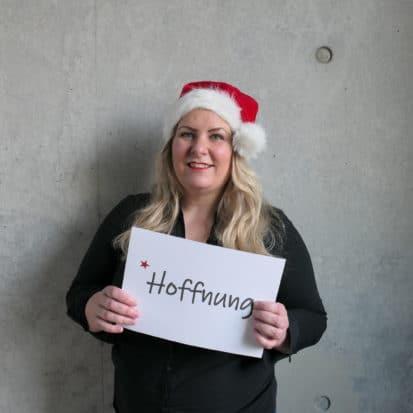 Christina Boos wünscht Hoffnung