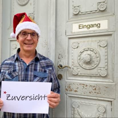 Harald Diersperger wünscht Zuversicht