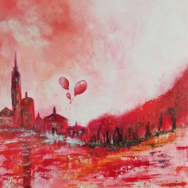 Sky Ballon Rot