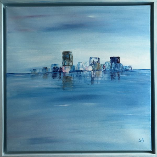 Lisa van Bonn: Stadt im Meer I