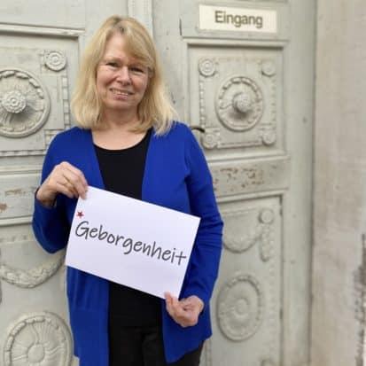 Edith Bär wünscht Geborgenheit
